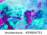 Abstract Watercolor Art. Hand...