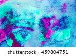Abstract Watercolor Art. Hand...