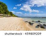 Mauritius Beach. Tropical...