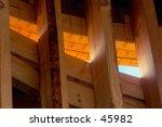sunset light through house frame | Shutterstock . vector #45982