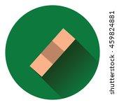medical plaster icon. flat...