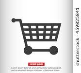 shopping cart icon | Shutterstock .eps vector #459825841