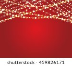 festive background with burning ... | Shutterstock .eps vector #459826171