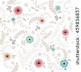 vector illustration of seamless ... | Shutterstock .eps vector #459836857
