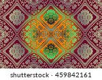 abstract decor delicate... | Shutterstock .eps vector #459842161