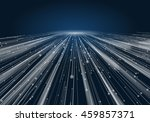abstract geometric technology... | Shutterstock .eps vector #459857371