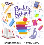 vector colorful illustration... | Shutterstock .eps vector #459879397