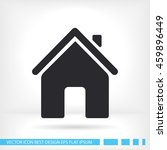 home icon. vector eps 10 | Shutterstock .eps vector #459896449
