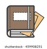 closed dairy book  notebook...