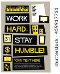 work hard  stay humble   flat