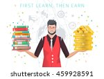 modern vector illustration  ... | Shutterstock .eps vector #459928591