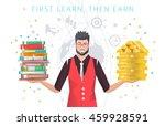 modern vector illustration  ... | Shutterstock .eps vector #459928591