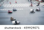 street on the top view with... | Shutterstock . vector #459929071