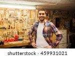 profession  people  carpentry... | Shutterstock . vector #459931021