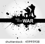 military sign   page header | Shutterstock .eps vector #45995938