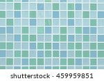 Blue And Green Mosaic