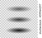 oval shadow set vector logo ...   Shutterstock .eps vector #459964297