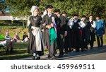 brem sur mer  france   july 09  ... | Shutterstock . vector #459969511