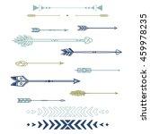 set of vector arrows | Shutterstock .eps vector #459978235