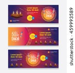 diwali festival corporate... | Shutterstock .eps vector #459993589