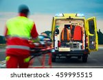 emergency medical service.... | Shutterstock . vector #459995515