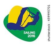 sailing icon  rio icon  sport... | Shutterstock .eps vector #459995701