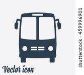 bus icon. schoolbus symbol. | Shutterstock .eps vector #459996901