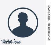 user sign icon. person symbol.... | Shutterstock .eps vector #459996904