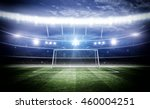 goal post 3d | Shutterstock . vector #460004251