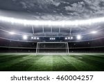 goal post 3d   Shutterstock . vector #460004257