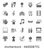 culture and art  icons ... | Shutterstock .eps vector #460008751