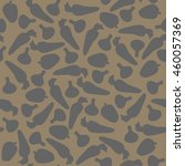 seamless pattern with different ... | Shutterstock .eps vector #460057369