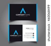 creative   simple corporate... | Shutterstock .eps vector #460068499