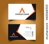 creative   simple corporate... | Shutterstock .eps vector #460068505