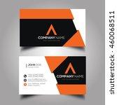 creative   simple corporate... | Shutterstock .eps vector #460068511