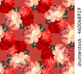 seamless pattern in russian... | Shutterstock .eps vector #460068919