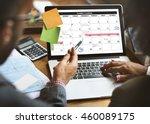 weekly planner schedule memo...   Shutterstock . vector #460089175