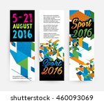 summer sport 2016 concept... | Shutterstock .eps vector #460093069