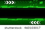 arrow on green and black | Shutterstock . vector #460103017