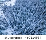 aerial drone photo of snow... | Shutterstock . vector #460114984