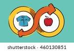 barter commerce trade...   Shutterstock .eps vector #460130851
