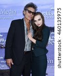 Small photo of LOS ANGELES - JUL 27: Steven Bauer and Lyda Loudon arrives to the Hallmark Channel, Hallmark Movies, Mysteries Summer 2016 TCA Press Tour Event on July 27, 2016 in Beverly Hills, CA