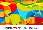 rio vector color background ... | Shutterstock .eps vector #460151461