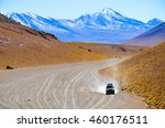 mountains and colourful arid... | Shutterstock . vector #460176511