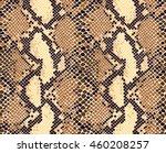snake skin seamless vector... | Shutterstock .eps vector #460208257
