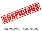 suspicious on stamp text on... | Shutterstock .eps vector #460222885