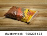 package set of spices for pilaf ...   Shutterstock . vector #460235635