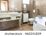 bathroom interior | Shutterstock . vector #460241839