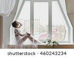 portrait of a girl in gentle... | Shutterstock . vector #460243234