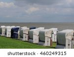 the beach of wilhelmshaven | Shutterstock . vector #460249315